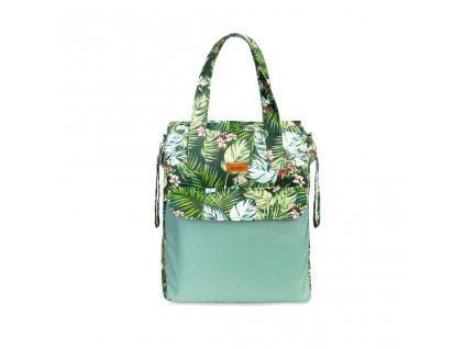Prebaľovacia taška Sensillo Mama Zelená džungľa