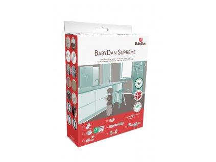BabyDan set bezpečnostných prvkov 16 kusov Starter safety set - BIO