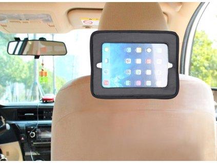 BabyDan Držiak tabletu a Baby zrkadlo do auta Lux Grey