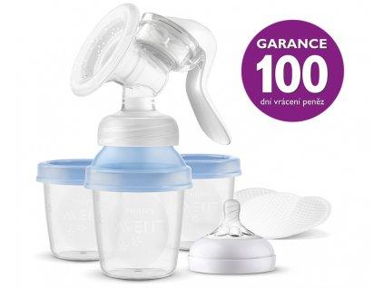 Philips AVENT Odsávačka materského mlieka manuálna s VIA systémom