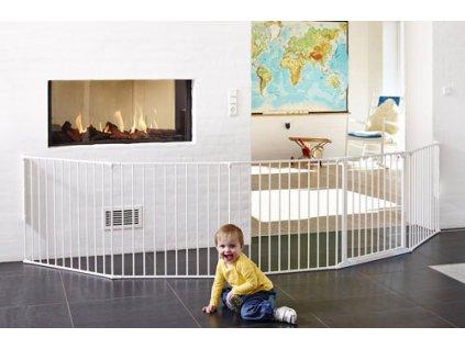 BabyDan priestorová zábrana Supreme Olaf Xxx 90-350 cm
