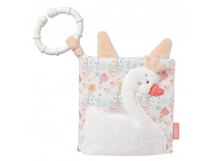 Baby Fehn plyšová knižka Swan Lake