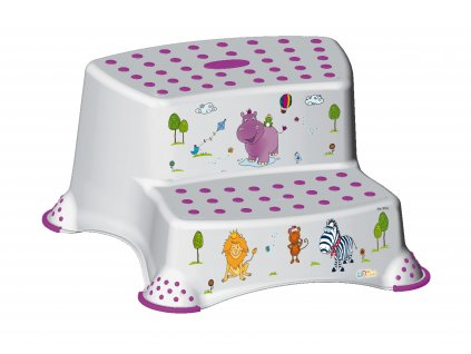 Keeper dvojstupienok k WC - umývadlu Hippo