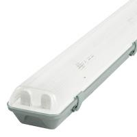 Prachotesné žiarivkové teleso pre LED žiarivky