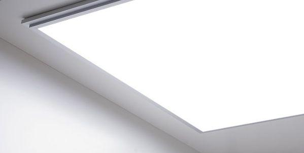 LED panel přisazený ke zdi