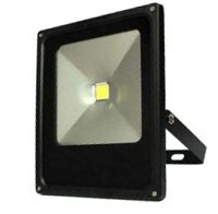 Černý LED halogen