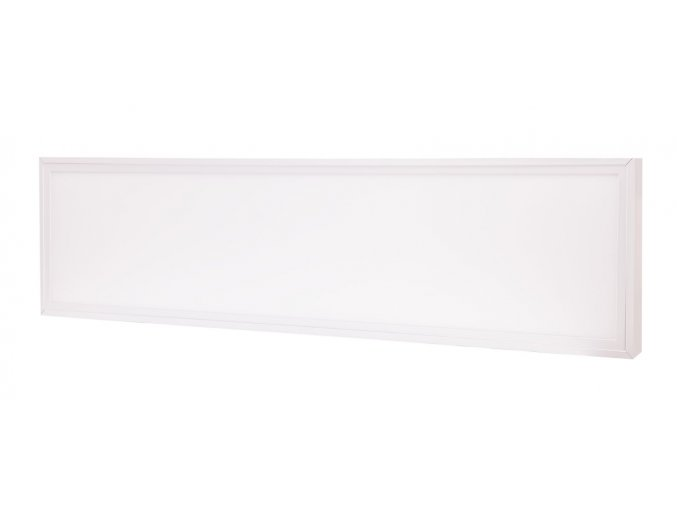 bily prosazeny led panel 30x120cm