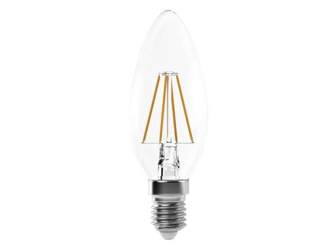 LED žiarovka sviečka Retro 4W E14