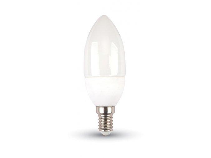 LED žiarovka sviečka 5,5W E14