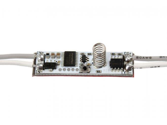 Dotykový stmievač LED pásku do profilu s diódou