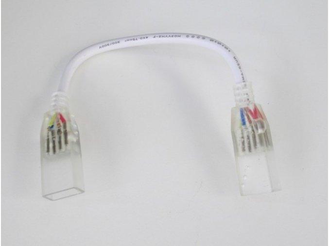 Spojka LED RGB pásku 230V s káblom