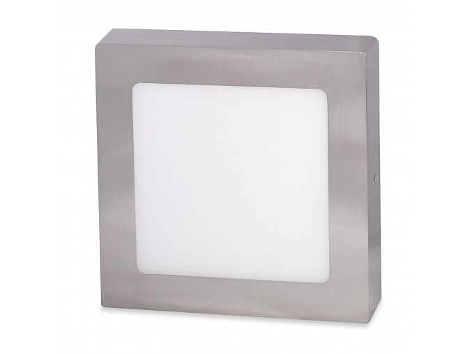 stribrny prisazeny led panel 225 x 225mm
