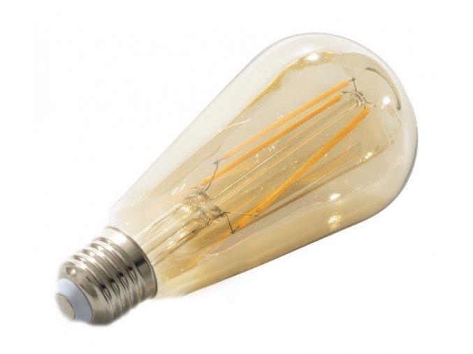 LED žárovka Filament 4W E27 oválna