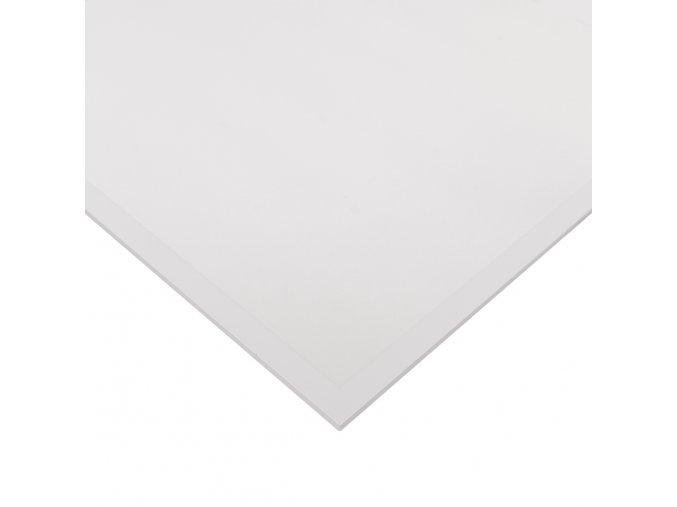 bily led panel 60x60 s rameckem