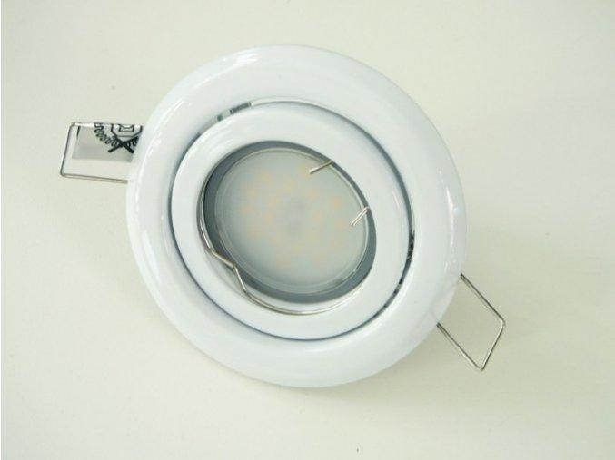 LED bodové světlo do sádrokartonu 5W bílé 12V výklopné (Barva světla Studená bílá)