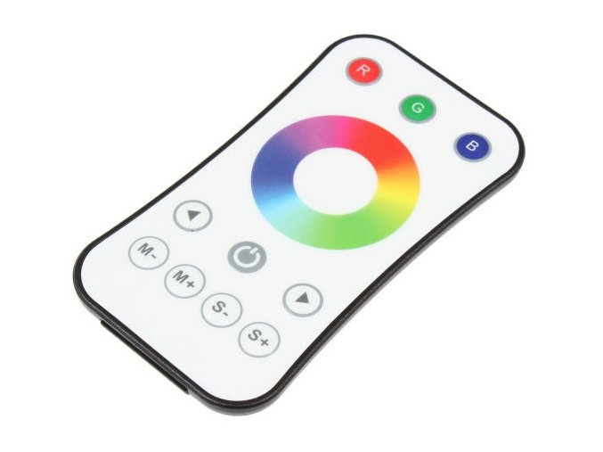 Diaľkový ovládač dimLED RGB biely