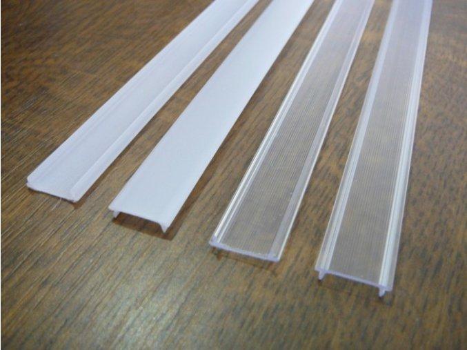 Difuzor (kryt) hliníkového profilu D1 (Vyberte variantu a délku Opálový kryt 2m)
