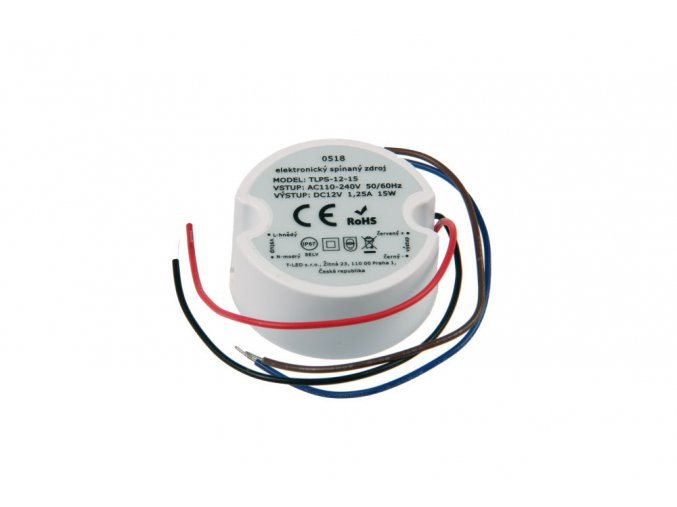 LED zdroj (trafo) 12V 15W IP67