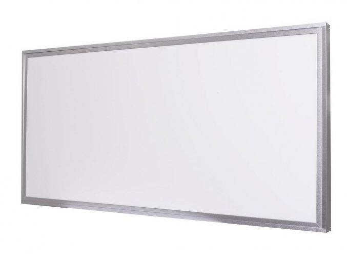 Strieborný prisadený LED panel s rámčekom 600 x 1200mm 75W Premium