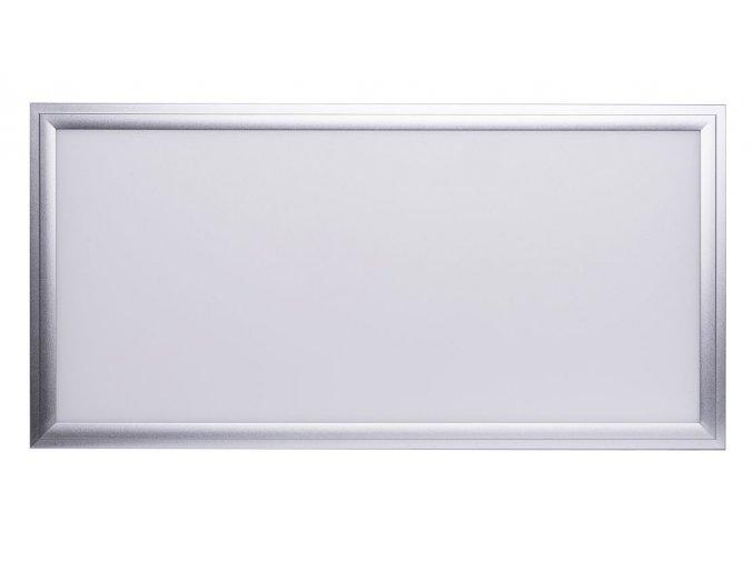 Strieborný závesný LED panel 300 x 600mm 24W Premium