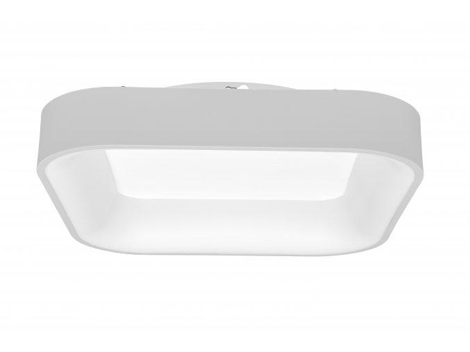 Biele LED stropné/nástenné svietidlo hranaté 40W