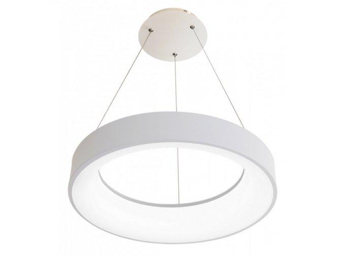 Biele LED závesné svietidlo okrúhle 40W