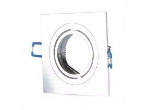 Podhľadový rámček brúsený hliník hranatý výklopný