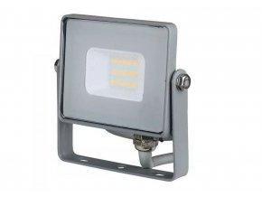 Šedý LED reflektor 10W Premium