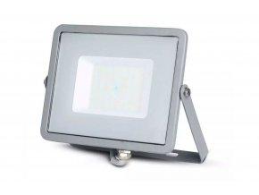 Šedý LED reflektor 50W Premium