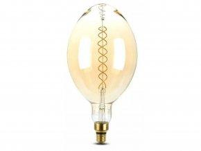 Designová LED žiarovka Vintage 8W E27 stmievateľná