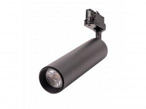 Čierny lištový LED reflektor 7W 3F Premium