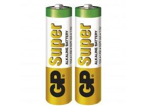 Alkalická batéria GP Super AA (LR6), 2 ks