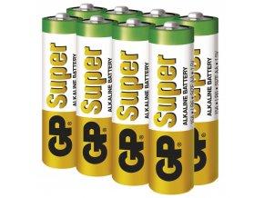 Alkalická batéria GP Super AA (LR6), 6+2ks