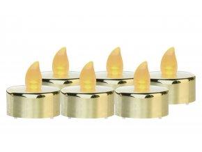 zlaté svíčky