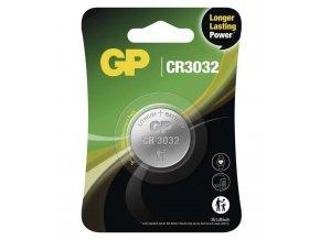 Lithiová gombíková batéria GP CR3032, 1ks