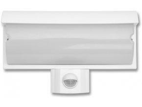 Nástenné LED svietidlo 9W s PIR čidlom biele