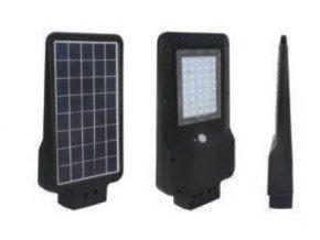 Inteligentné LED solárne verejné osvetlenie 30W (3v1)