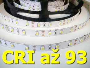 LED pásek 12W/m CRI bez krytí (Barva světla Studená bílá)