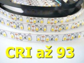 LED pásek 20W/m CRI bez krytí (Barva světla Studená bílá)