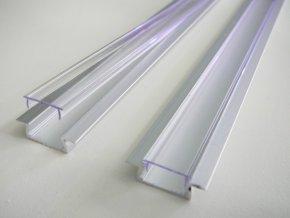 Hliníkový vestavný profil pro LED pásky mini V4 (Vyberte variantu a délku Profil + Násuvný opálový kryt 2m)