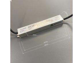 LED zdroj (trafo) 12V 12W IP67