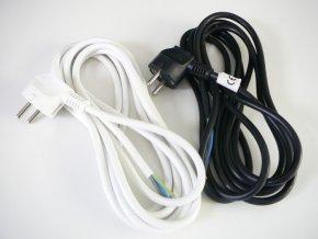 Flexo šňůra - 2m 3x vodič (Vyberte barvu Černá)