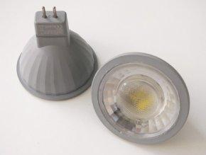 LED žárovka 7W GU5.3 12V (Barva světla Studená bílá)