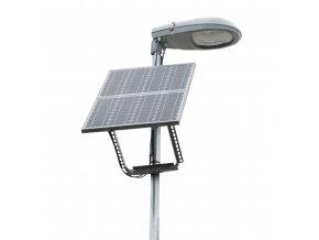 Inteligentní LED solární veřejné osvětlení 15W (Výdrž akumulátorů 59 hodin)