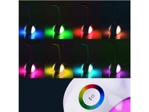 LED stolová lampa 5W s dotykovým stmievačom