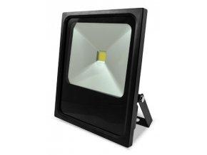 Čierny LED reflektor 70W