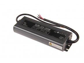 LED zdroj (trafo) 12V 250W IP67 SLIM