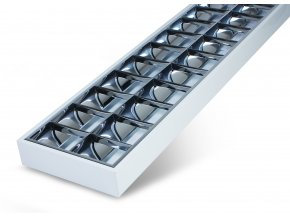 Prisadené žiarivkové svietidlo pre LED žiarivky 2x 120cm
