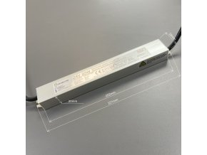 LED zdroj (trafo) 24V 30W IP67