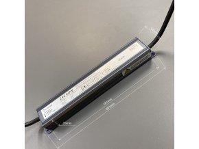 LED zdroj (trafo) 24V 60W IP67 SLIM